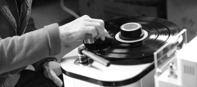 レコード盤を洗ってみよう